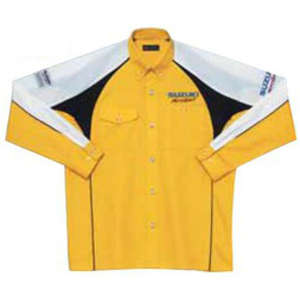 SUZUKI Pit Shirt (Long Sleeve) (MOTOR SPORTS)