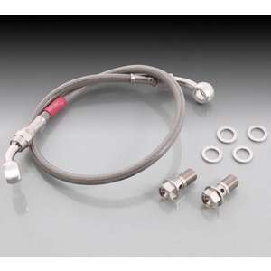 KITACO super Teflon Stainless Mesh Brake Hose Set