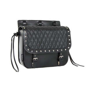 EASYRIDERS Diamond Stitch Saddlebag