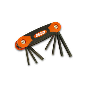 EASYRIDERS CRUZ TOOL KIT [Folding Hex/Torx Key Set]