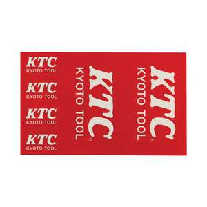 KTC Etiqueta do logotipo de KTC