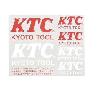 KTC KTC Switching Character Sticker Assorted Type