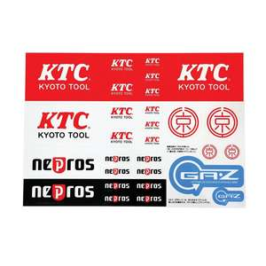 KTC Logo Sticker Sheet
