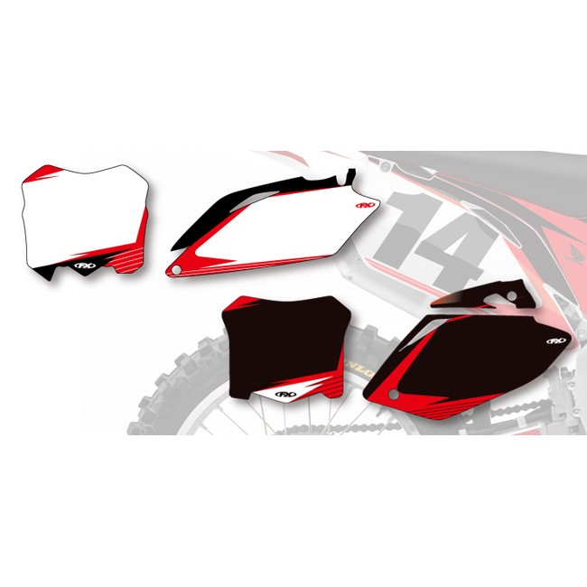 FACTORY EFFEX Pre-Cut Printed Background HONDA