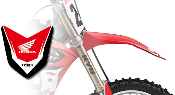 FACTORY EFFEX HONDA Front Fender Decal
