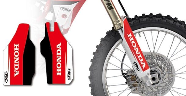 FACTORY EFFEX HONDA Inner Fork Guard Decal A