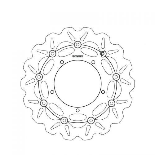 Galfer Wave Disc Rotor Dc475w