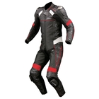 KOMINE S-45 Titanium Leather Suit (Fits Along with SK-647)