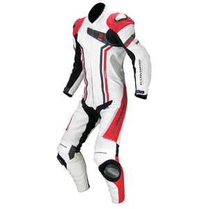 KOMINE S-46 Titanium Leather Suit EPICURUS