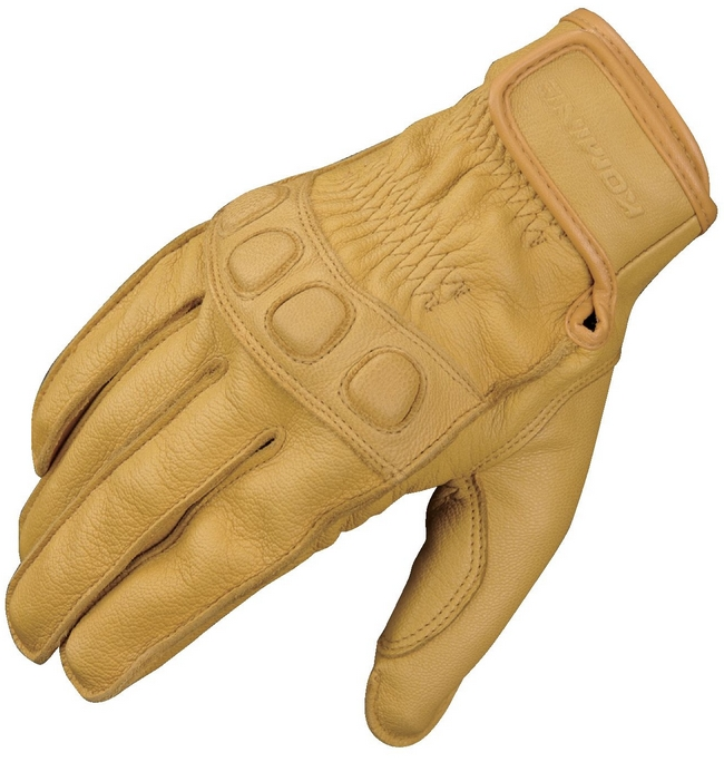 KOMINE GK-720 Vintage Leather Gloves