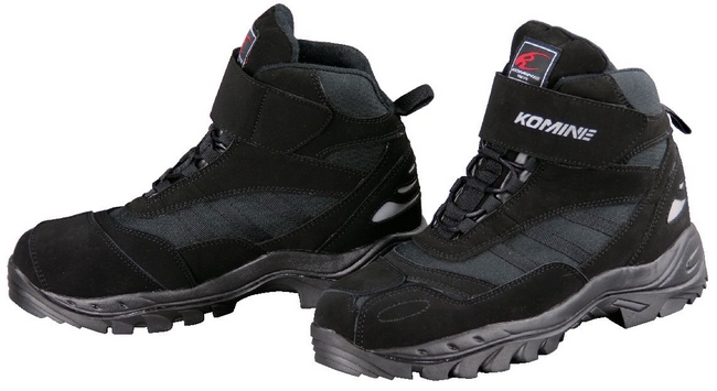 KOMINE BK-061 FTC Riding Shoes