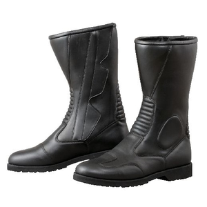 KOMINE K-520 Side Zipper Wide Boots