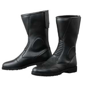 KOMINE K-202 Back Zipper Wide Boots
