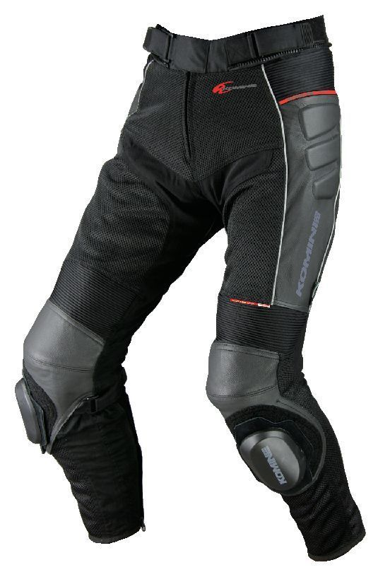 KOMINE PK-709 Knee Slider Leather Mesh Pants