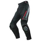 PK-717 運動型騎士皮革網格褲(OUTLET出清商品)