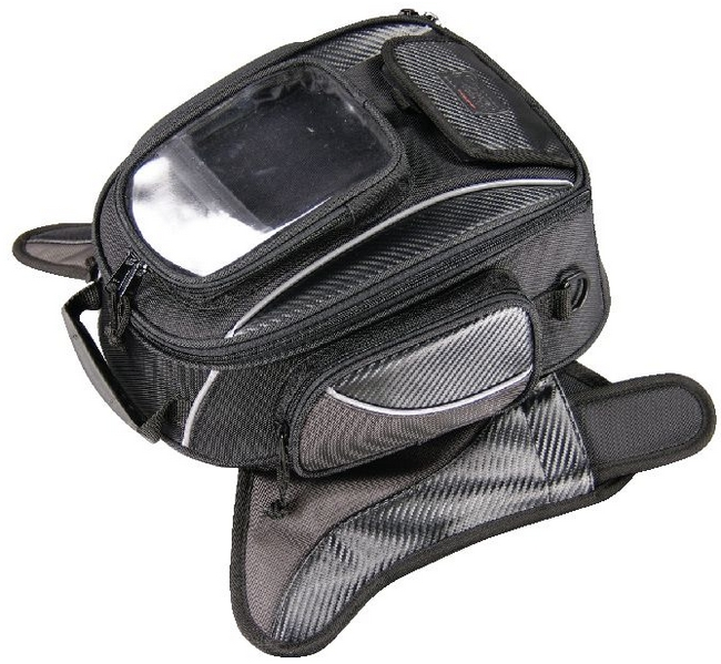 KOMINE SA-052 Navigation Touring Tank Bag SC (Suction Pad)
