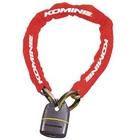 KOMINE LK-111 Square Chain Pad Lock