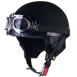 LEAD CROSS CR-750 Vintage Half Helmet