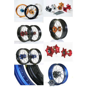 HAANWHEELS Front Wheel Complete Kit