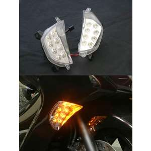 BLASTMANIA LED Clear Blinker