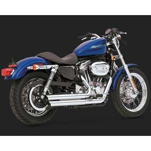 VANCE&HINES Double Barrel Staggered Full Exhaust System (DOUBLE BARREL STAGGERED)