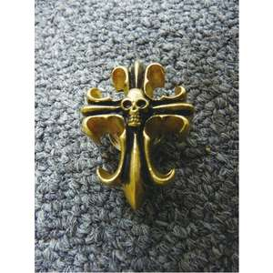 RIDEZ Helmet Accessories SKULL CROSS