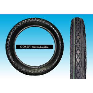 EASYRIDERS GOODYEAR REPLICA DIAMOND TIRE (4.50 X 18)