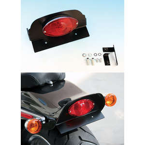 EASYRIDERS Cats Eye Tail Light Kit for Genuine Fender