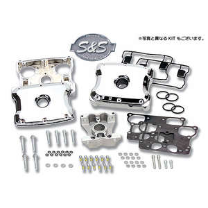 EASYRIDERS S&S Rocker Cover Kit Polished