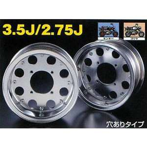 G-Craft 3.5J 8 Hole Specification Silver 8-inches Wide Wheel 3.5J (with Hole)