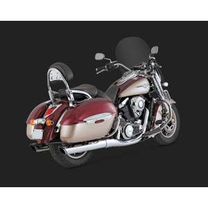 VANCE&HINES Twin Slash Round Slip-on Silencer