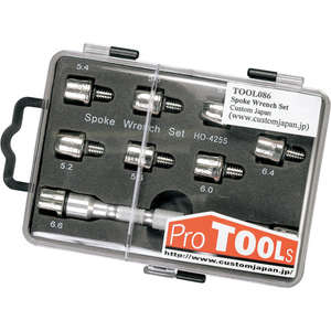 PROTOOLS Spoke Wrench Set