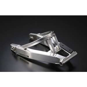 OVER RACING Swing Arm with Rib Stabilizer for 10cm Long Disc Brake Vehicle