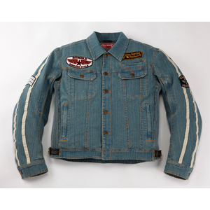 RUMBLE Washed Denim Iron Jacket