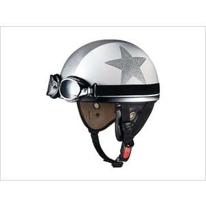 OGK PF-5 MINI [Dot White Star] Helmet
