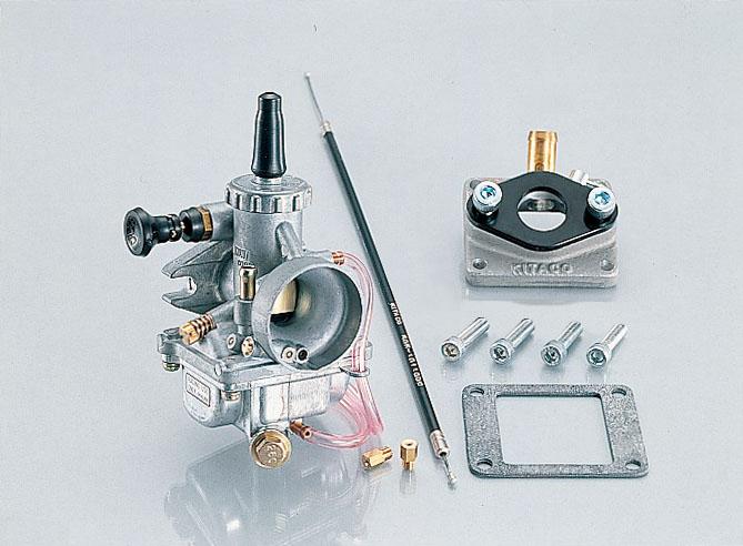 kitaco big carburetor kit mikuni vm 20 110 0023401. Black Bedroom Furniture Sets. Home Design Ideas