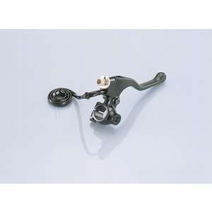 KITACO R Short Lever & Holder Set (Black/with Mirror Holder)