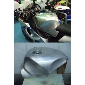 BrightLogic Aluminum Tank for HAYABUSA