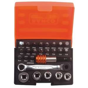 BAHCO Socket & Bit Set (26PCS)