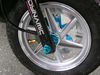 Kn Planning Sym Dd50 Front And Rear Plating Aluminum Wheel