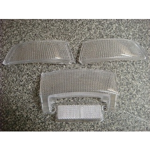 KN Planning Hinten Clear Blinker Left und Right Tail Set