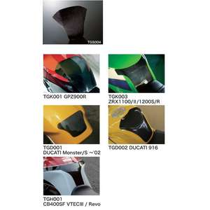 N PROJECT Carbon Fuel Tank Shield per GSX1400