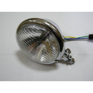 KN Planning Universal Bates Type Headlight Plated