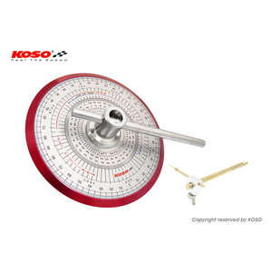 KOSO KOSO All Round Protractor [Valve Timing Measurement Tool] for Universal Purpose