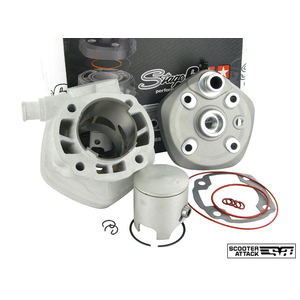KN Planning STAGE6 JOG 70CC Water-cooled Center Rib Aluminum Bore Up Kit MK2