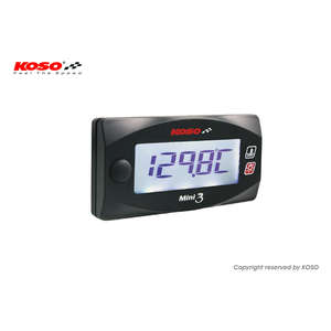 KOSO KOSO Mini3 Digital [Head Thermometer] CYGNUSX/BWS125