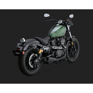 VANCE&HINES Silenziatore slip-on serie Competition nero