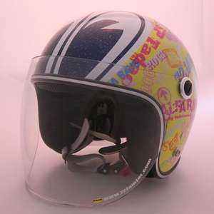 ALFA RAYS SP Tadao Collaborate Model Jet Helmet