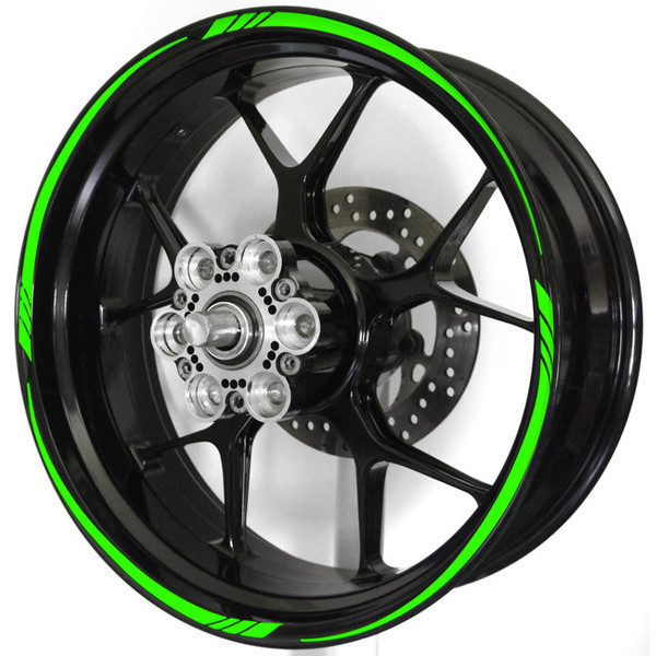 Wheel stripe rim sticker design 3 spacer