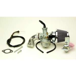 CLIPPING POINT Big Carburetor 2020Φ & Cleaner Kit for Normal Head